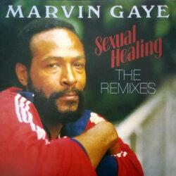 Satılık Plak Marvin Gaye Sexual Healing Plak Ön Kapak