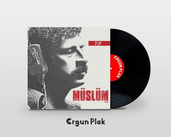 Satılık Plak Müslüm Gürses Müslüm Baba Film Müzikleri Plak Kapak
