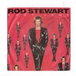 Satılık Plak Rod Stewart Baby Jane 45lik Plak Ön Kapak