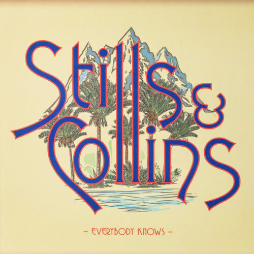 Satılık Plak Stephen Stills & Judy Collins Everybody Knows Plak Ön Kapak
