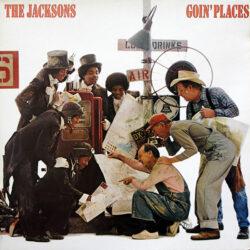 Satılık Plak The JAcksons Goin Places Plak Ön Kapak