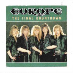 Satılık Plak Europe The Final Countdown 45lik Plak Ön Kapak