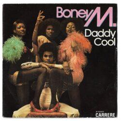Satılık Plak Boney M Daddy Cool Plak 45lik Plak Ön Kapak