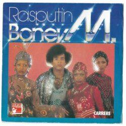 Satılık Plak Boney M Rasputin Plak 45lik Plak Ön Kapak