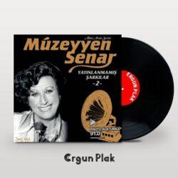 Satılık Plak Müzeyyen Senar Yayınlanmamış Şarkılar 2 Plak Kapak
