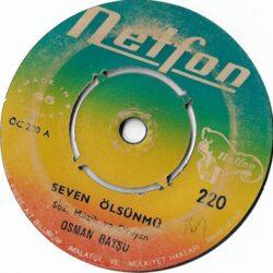 Satılık Plak Osman Bayşu Seven Ölsünmü Plak Ön Kapak