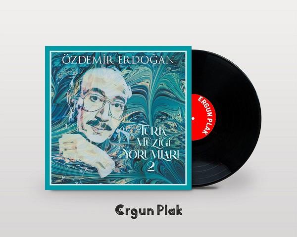Satılık Plak Özdemir Erdoğan Türk Müziği Yorumları 2 Plak Kapak