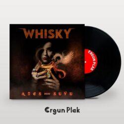 Satılık Plak Whisky Ateş Suyu Plak Kapak