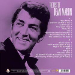 Satılık Plak Best Of Dean Martin Plak Arka Kapak